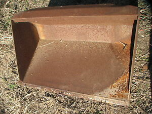 Mini Skid Steer Mini Excavator Bucket 36 Inches Wide Can Ship