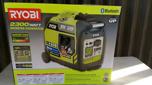 New Ryobi 2300 watt Quiet Gasoline Powered Digital Inverter Generator