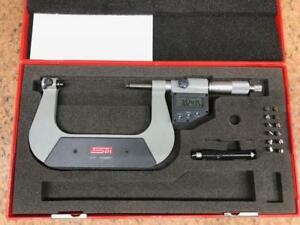 Spi Digital Screw Thread Micrometer 3 4 00005
