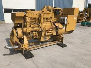 _350 Kw Caterpillar 3406 Generator Set Year 1997 3 Phase Low Hours 208 Volts