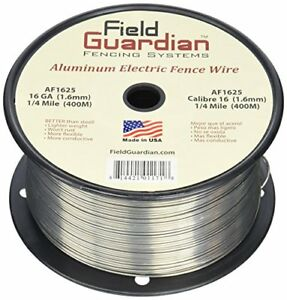 New Field Guardian 16 guage Aluminum Wire 1 4 Miles Free2dayship Taxfree