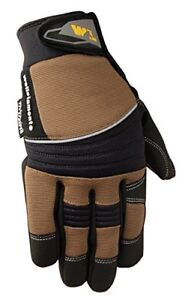 Men s Hi dexterity Winter Gloves 60 gram Thinsulate Synthetic Leather Palm X