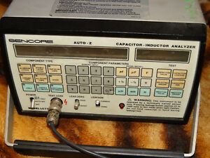 Sencore Lc77 Auto z Capacitor Inductor Analyzer Guaranteed Working