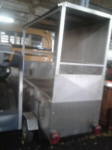 Bbq Grill Trailer Food Truck Catering Street Vendor Concession 6 Burner