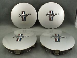 4 Ford Mustang F1zc 1a096 Aa Factory Oem Wheel Center Rim Cap Cover Gt
