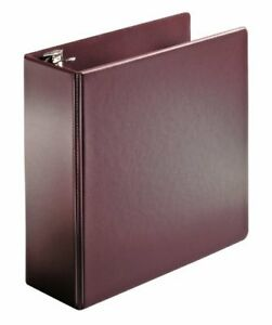 Cardinal Superstrength Locking Slant d Ring Binder 4 inch Maroon 11857v2