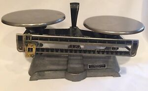 Harvard Trip Balance Scale Ohaus Scale Corp E h Sargent Co