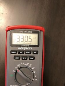 Snapon Digital Volt Ohm Meter