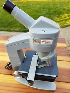 American Optical Fifty Model 60 61 62 Microscope 4 Objectives Free Shipping