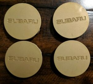 Subaru Gc8 Impreza Wrx Sti Oem Centercaps For The Gold Rims Jdm