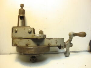 Unknown Metal Planer Shaper Head Tool Holder With Tool Post Gould