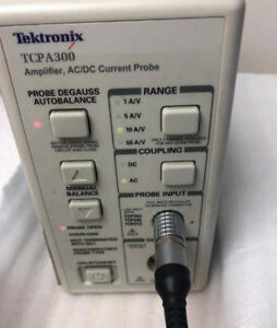 Tektronix Tcpa300 Amplifier tcp312 Current Probe