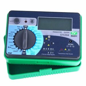 Dy294 Digital Transistor Tester Semiconductor Tester Dc Parameter Tester Ce