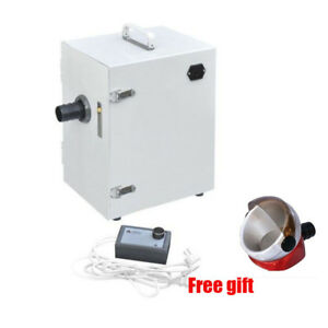 370w Dental Digital Single row Dust Collector Collect Vacuum Cleaner base Usps
