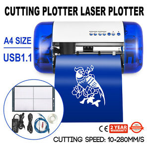 A4 Sign Cutting Plotter Laser Plotter Carving Plotter Cutter Mini Vinyl Cutter