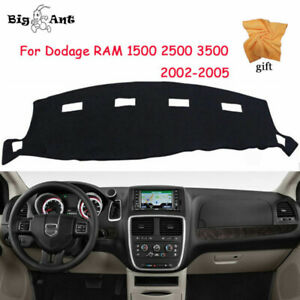 Us Stock Dashmat For Dodge Ram1500 Mat Dash Cover 2500 3500 Dashboard 2002 2008