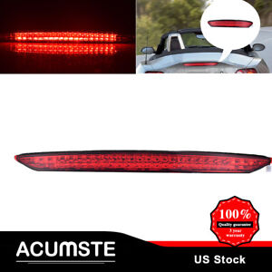 Red Trunk 3rd Third High Mount Brake Stop Rear Tail Light For 03 08 Bmw E85 Z4