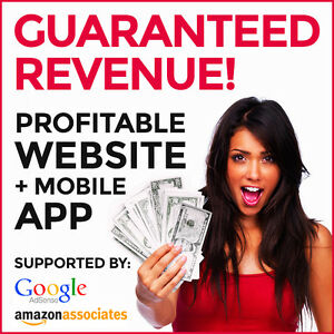 Profitable Website Mobile App Make At Least 150 month Guaranteed Income