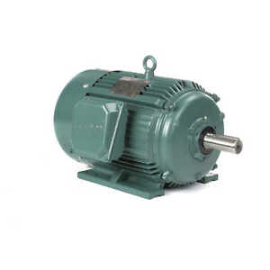 Leeson Electric Motor 170007 60 20 Hp 1775 Rpm 3ph 208 230 460 Volt 256t Frame
