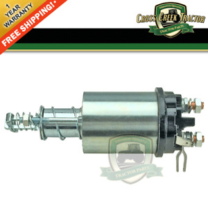 E4nn11390ac New Starter Solenoid For Ford 2000 3000 4000 4000su 2600 3600