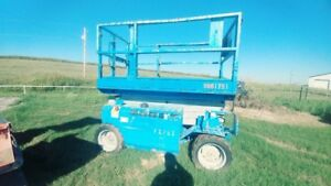 2008 Genie Gs 3268 All Terrain Manlift Scissor Lift 1859hrs Used