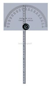 Mitutoyo 968 203 Protractor Square Head W 6 Rule
