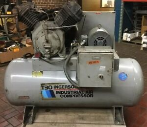Ingersoll Rand T30 Air Compressor 2 Stage15 Hp 3 phase 30t11120h Warranty