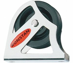 Ronstan Rf40171hl Pulley Block For Wire Rope 1 2 Sheath W 3 8 Rope Dia