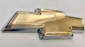 2006 2016 Chevy Impala Monte Carlo Front Or Rear Grille Bowtie Emblems Gold