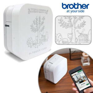 Hello Kitty Brother P touch Cube Label Printer Sanrio N 1802 643963 Bluetooth