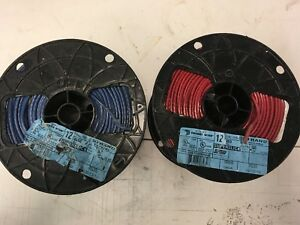 1000 Thhn 10 Awg Gauge Red Blue Stranded Copper Wire
