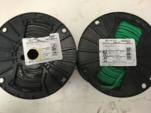 1000 Thhn 10 Awg Gauge Green Black Stranded Copper Wire