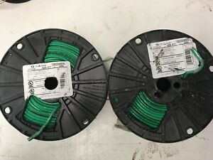 1000 Thhn 10 Awg Gauge Green Stranded Copper Wire