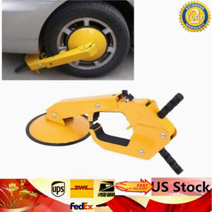 Anti Theft Wheel Lock Clamp Boot Tire Claw Parking Car Truck Rv Boat Trailer Us