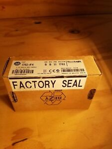 Factory Sealed Allen Bradley 1762 if4 Ser B Rev B Micrologix 4 Chnl Analog