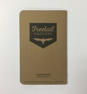 Field Notes Freetail Hackers Edition Notebook
