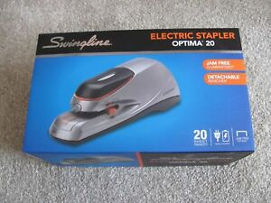 Brand New Swingline Optima 20 Electric Stapler 48208 Free 3 Packs Staples Incl