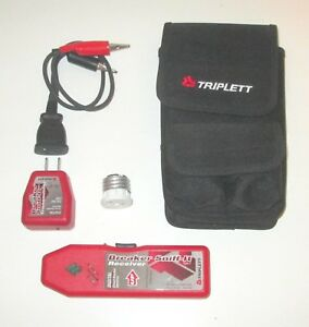 Triplett Breaker Sniff it Digital Circuit Breaker With Carrying Case