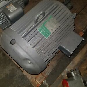 Lincoln Tefc Tf4370 3 phase 20hp Electric Motor