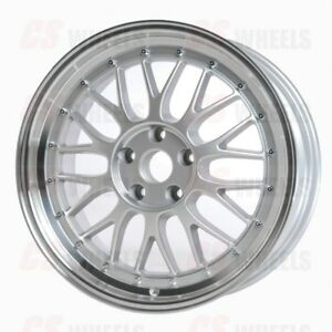 18 Silver Lm Style Wheels Rims Fits Bmw 3 Series 328i 335i Msport