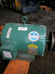 10 Hp 3 Phase Baldor Or Toshiba Electric Motor Off Aircompressor Converter