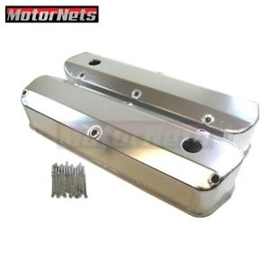 Sbf Ford 289 302 Fabricated Anodized Aluminum Valve Covers Tall Mustang V8 5 0l