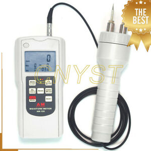 Am 128ps Portable Multifunction Moisture Meter Tester With Two Measurement Modes