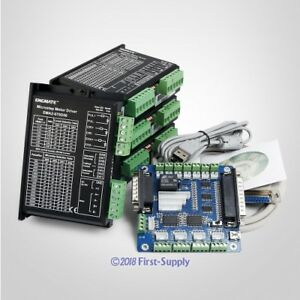 Cnc Kit 4 Axis Controller Board Engmate Stepper Motor Driver Ema2 070d56