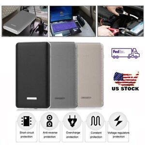 Portable 30000mah Car Jump Starter Engine Battery Booster Charger Power Bank Us