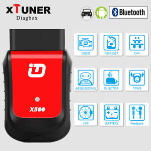 Auto Scanner Bluetooth Android Obd2 Car Diagnostic Tool Engine Abs Immo Xtuner