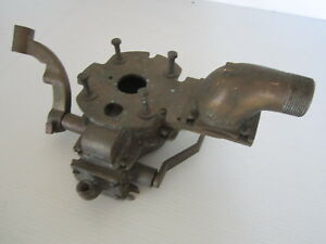 Vintage Antique Groco Brass Carburetor Hit Miss Steam Engine Boat Schebler Acorn