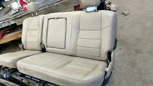 99 00 01 02 03 04 05 06 07 Ford F350sd Rear Bench Seat Leather Crew Cab Tan 8h