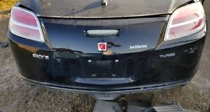 2007 2010 Saturn Sky Redline Rear Bumper Cover Bluestone G111