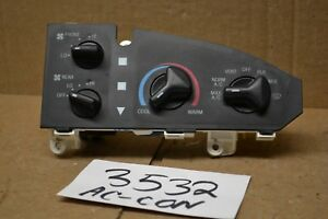 2005 2006 2007 Ford E 150 Ac And Heater Control Used Stock 3532 ac